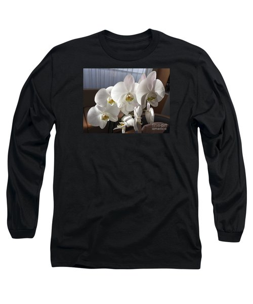 Oh Those Orchids Long Sleeve T-Shirt
