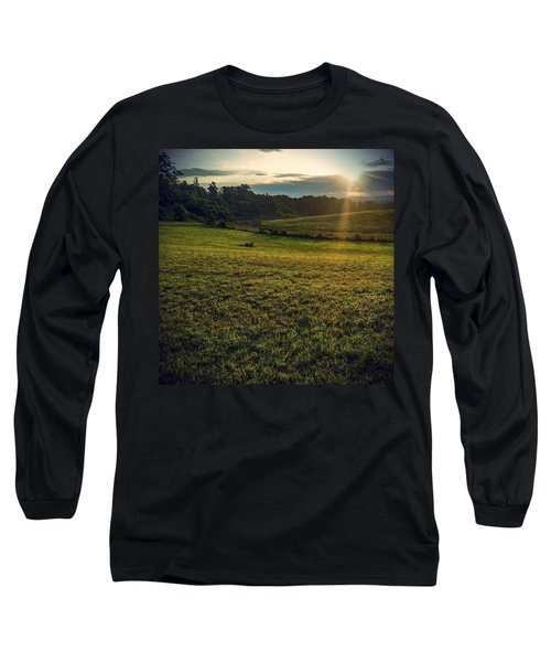 Oh What A Beautiful Morning Long Sleeve T-Shirt