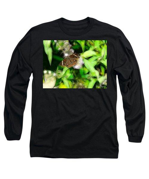 Ohio Buckeye Long Sleeve T-Shirt by EricaMaxine  Price