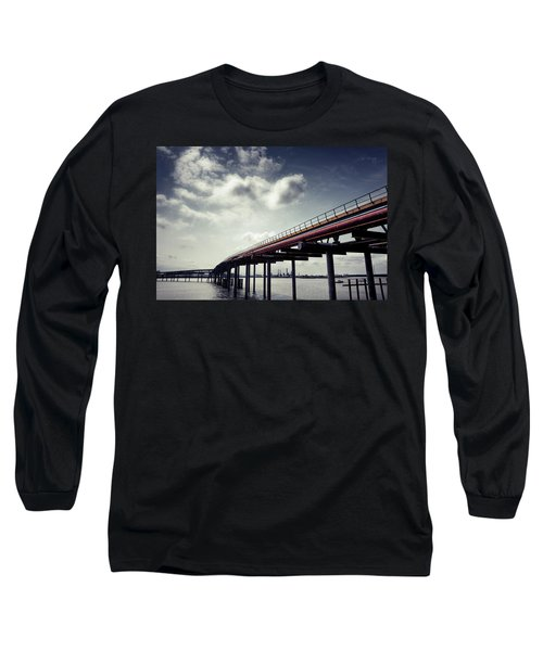 Oil Bridge Long Sleeve T-Shirt by Joseph Westrupp