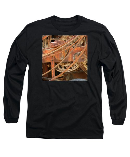 Oil Production Rig Long Sleeve T-Shirt