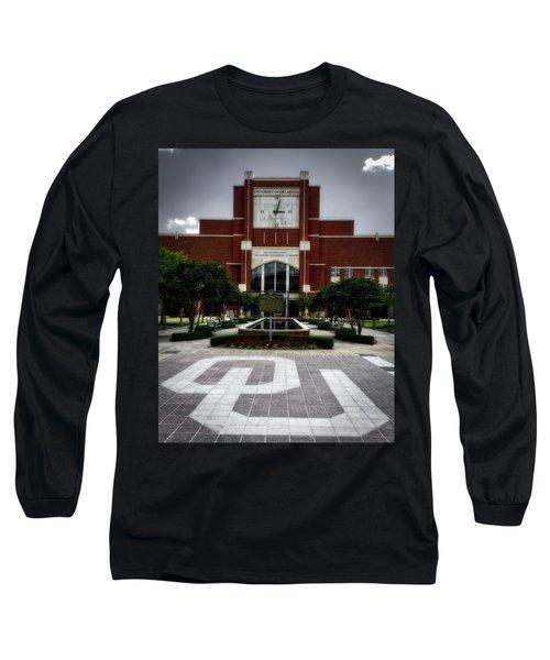 Oklahoma Memorial Stadium Long Sleeve T-Shirt