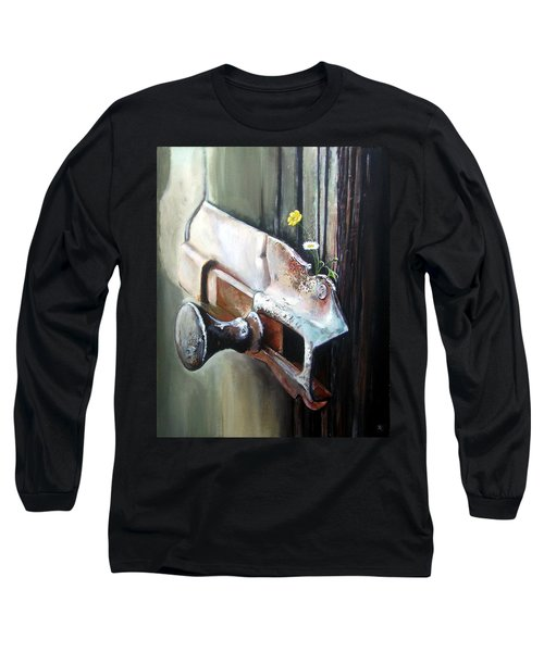 Old And Rusty Long Sleeve T-Shirt