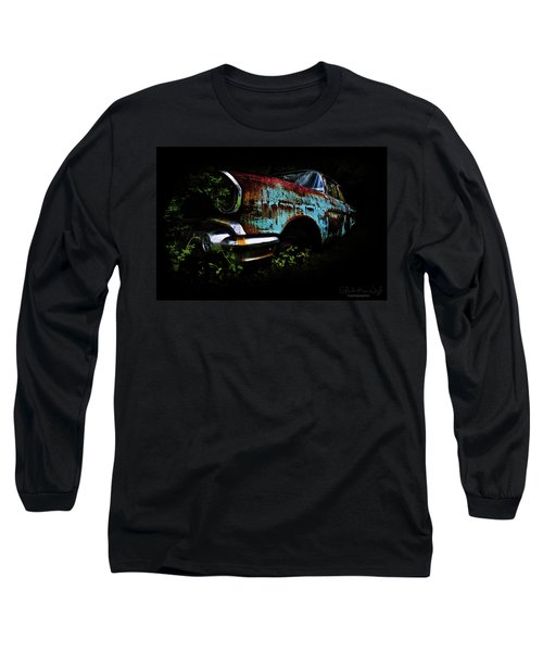 Old Blue Chevy Long Sleeve T-Shirt