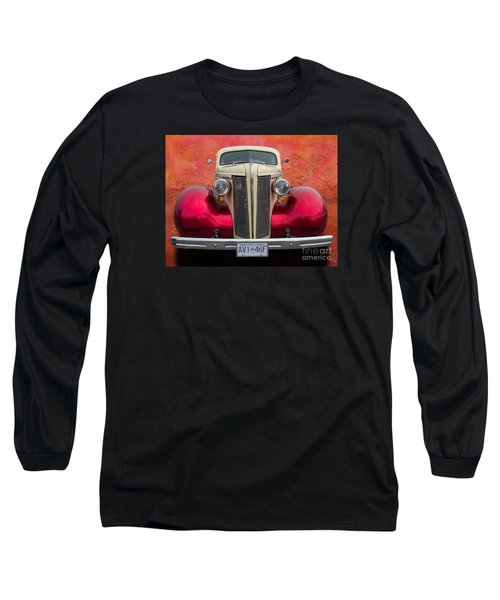 Old Buick Long Sleeve T-Shirt by Jim  Hatch