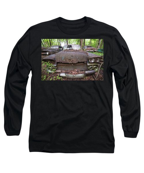 Old Car City In Color Long Sleeve T-Shirt
