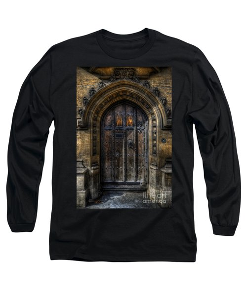Old College Door - Oxford Long Sleeve T-Shirt