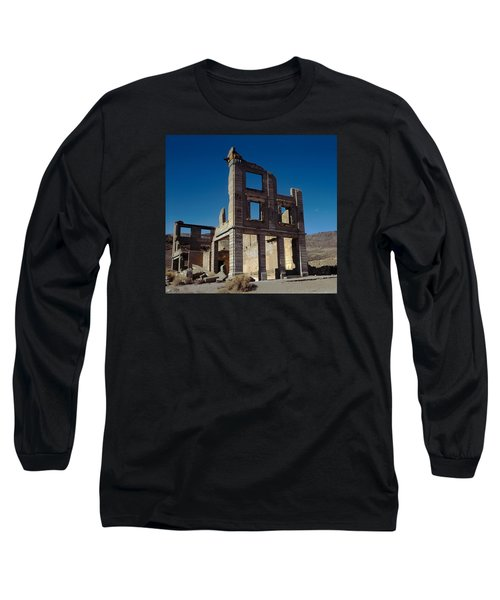 Old Cook Bank Building Long Sleeve T-Shirt
