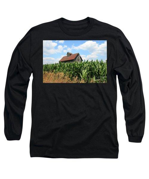 Old Corn Crib Long Sleeve T-Shirt