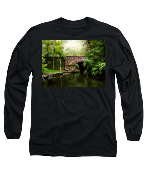 Old Country Bridge Long Sleeve T-Shirt
