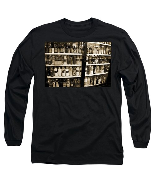 Old Drug Store Goods Long Sleeve T-Shirt