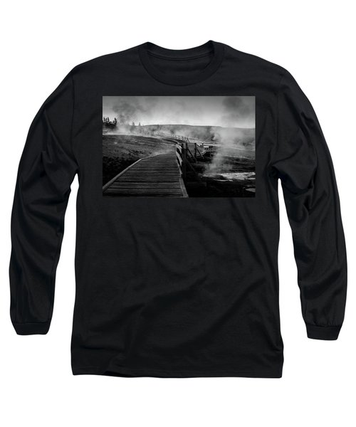 Old Faithful Boardwalk Long Sleeve T-Shirt