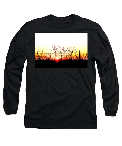 Old Fence Long Sleeve T-Shirt