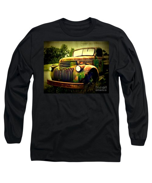 Old Flatbed 2 Long Sleeve T-Shirt