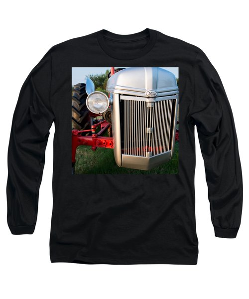 Ford Tractor 9n Tractor Front Long Sleeve T-Shirt