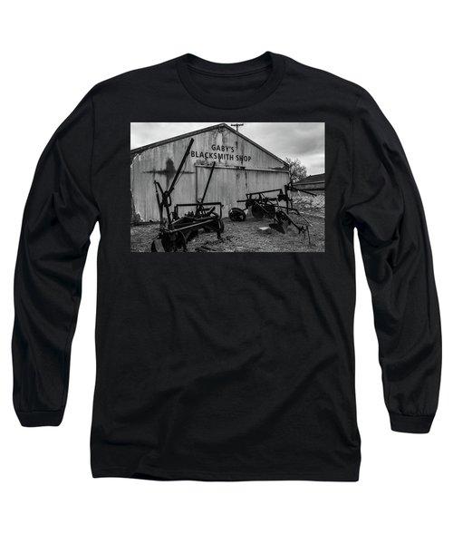 Old Frisco Blacksmith Shop Long Sleeve T-Shirt