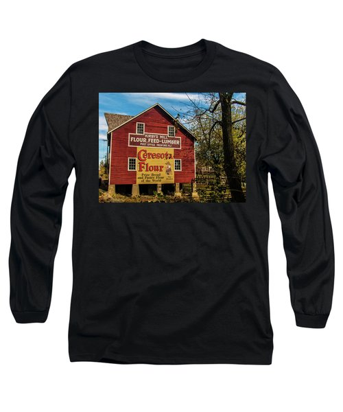 Old Kirby's Flower Mill Long Sleeve T-Shirt