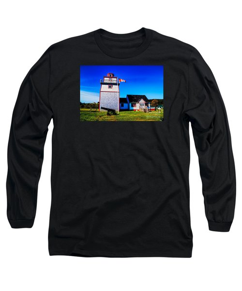 Old Lighthouse Long Sleeve T-Shirt