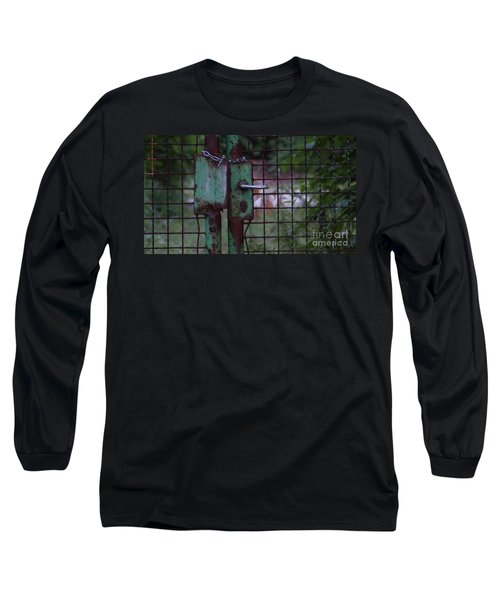 Old, Locked And Rusty Long Sleeve T-Shirt