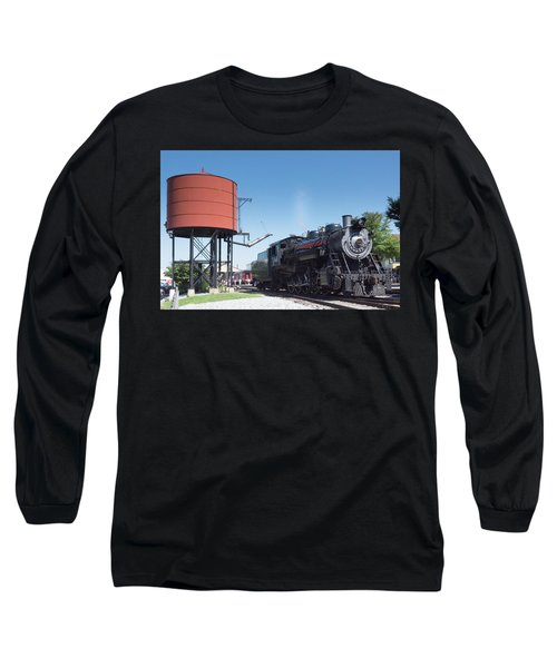 Old Number 90 Steam Engine Long Sleeve T-Shirt