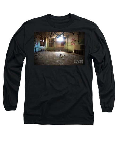 Old Paint Shop Long Sleeve T-Shirt by Randall Cogle