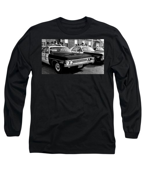 Old Police Car Long Sleeve T-Shirt