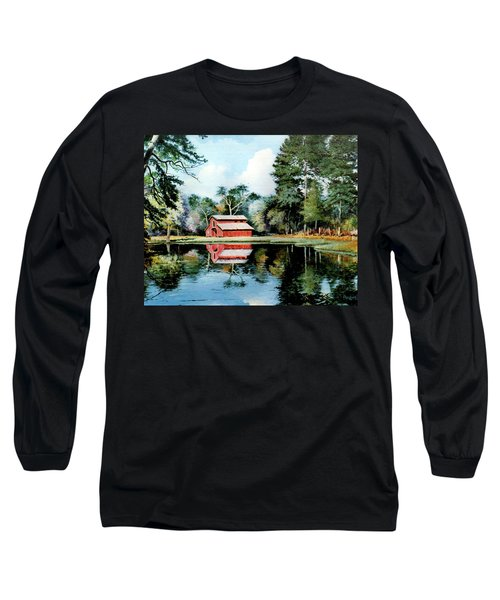 Old Red Barn Long Sleeve T-Shirt