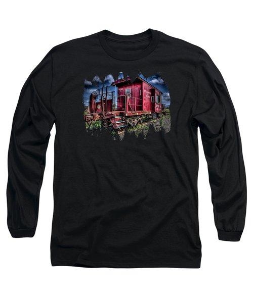 Little Red Caboose Long Sleeve T-Shirt
