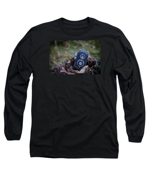 Long Sleeve T-Shirt featuring the photograph Old Rollei by Keith Hawley