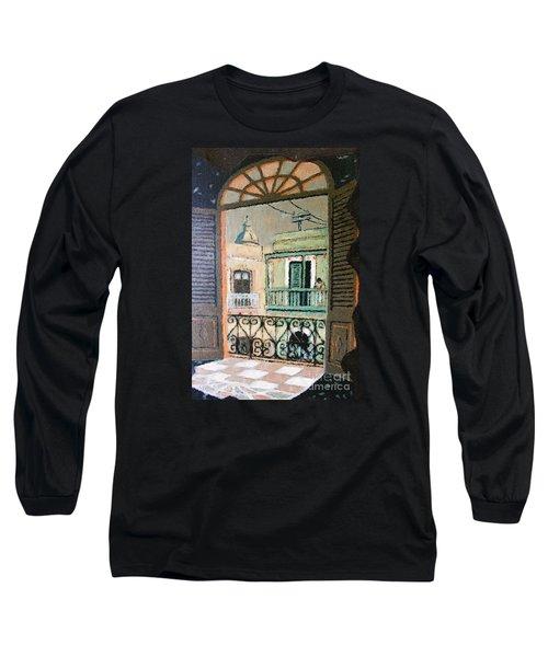 Old San Juan View Long Sleeve T-Shirt