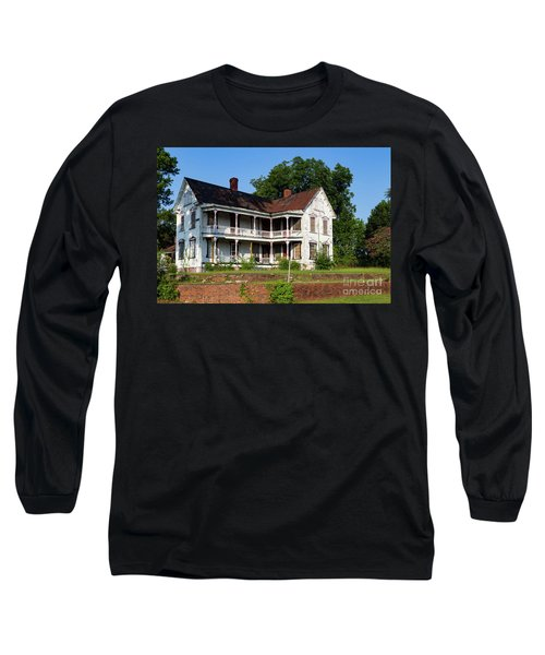 Old Shull Mansion Long Sleeve T-Shirt