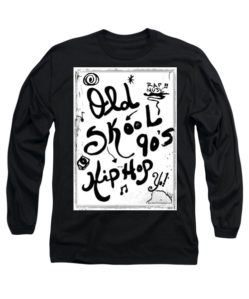 Old-skool 90's Hip-hop Long Sleeve T-Shirt