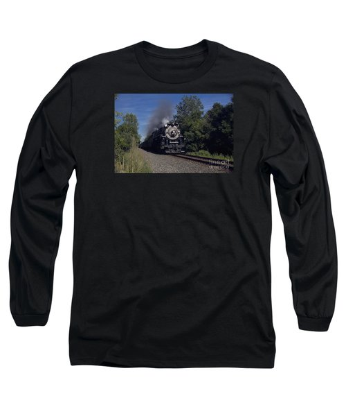 Old Steamer 765 Long Sleeve T-Shirt by Jim Lepard