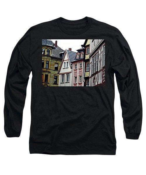 Old Town Mainz Long Sleeve T-Shirt by Sarah Loft