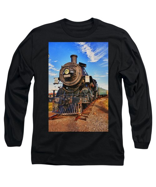 Old Train Long Sleeve T-Shirt