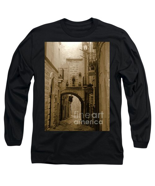 Old Village Street Long Sleeve T-Shirt
