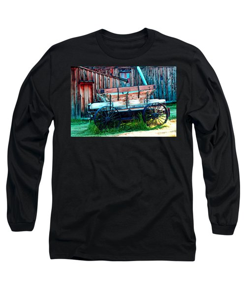 old Wagon In Bodie Long Sleeve T-Shirt