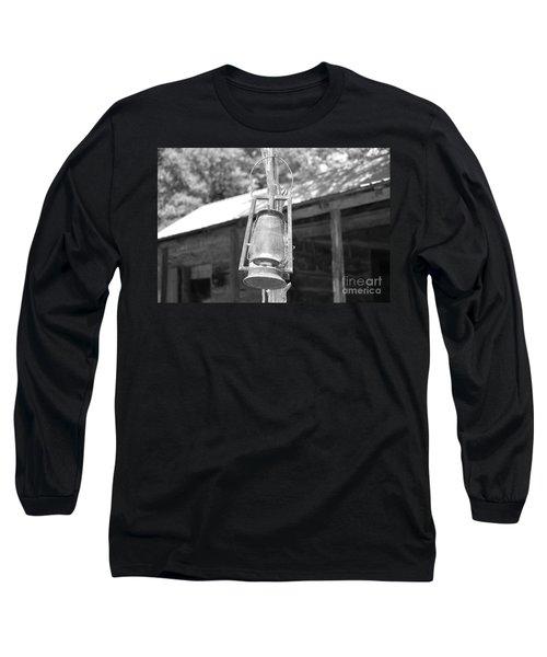 Old Western Lantern Long Sleeve T-Shirt
