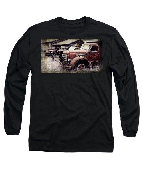 Old Work Trucks Long Sleeve T-Shirt