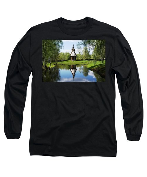 Old World Church Long Sleeve T-Shirt