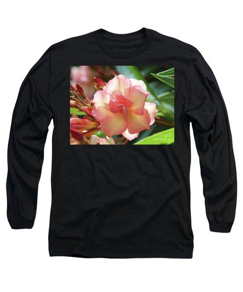 Oleander Mrs. Roeding 1 Long Sleeve T-Shirt by Wilhelm Hufnagl