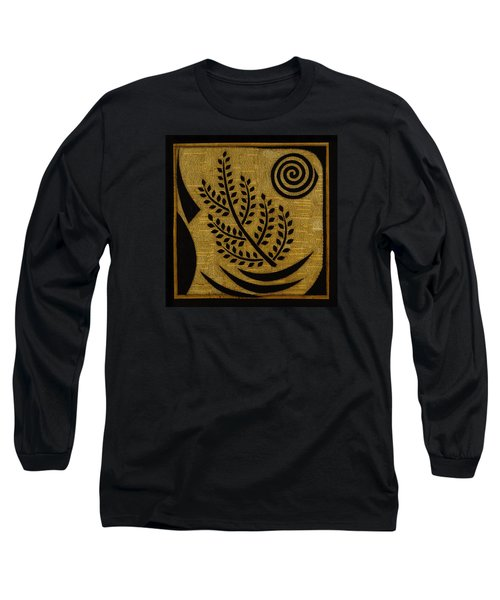 Long Sleeve T-Shirt featuring the mixed media Olive Branch by Gloria Rothrock