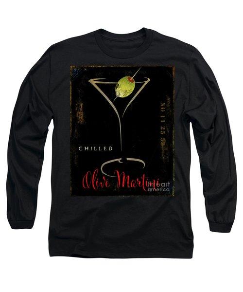 Olive Martini Long Sleeve T-Shirt