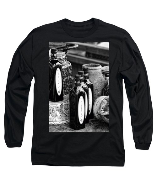 Olives And Oil Long Sleeve T-Shirt