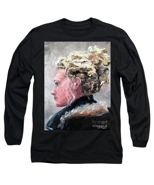 Olivia 2 Long Sleeve T-Shirt by Diane Daigle