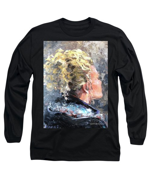 Olivia Long Sleeve T-Shirt by Diane Daigle