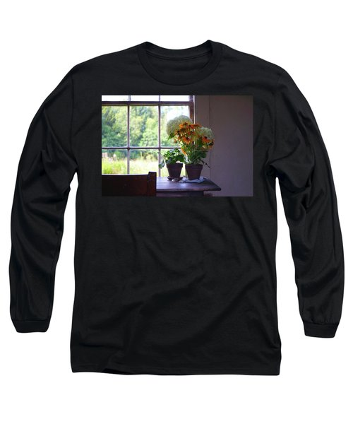 Olson House Flowers On Table Long Sleeve T-Shirt