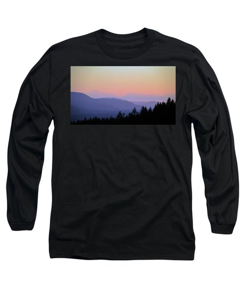 Olympic Silhouette Long Sleeve T-Shirt