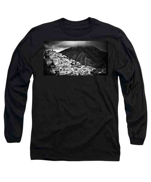 Olympos. Karpathos Island Greece Long Sleeve T-Shirt