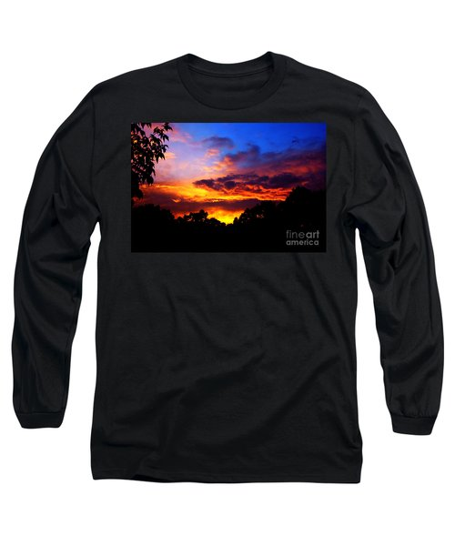 Ominous Sunset Long Sleeve T-Shirt